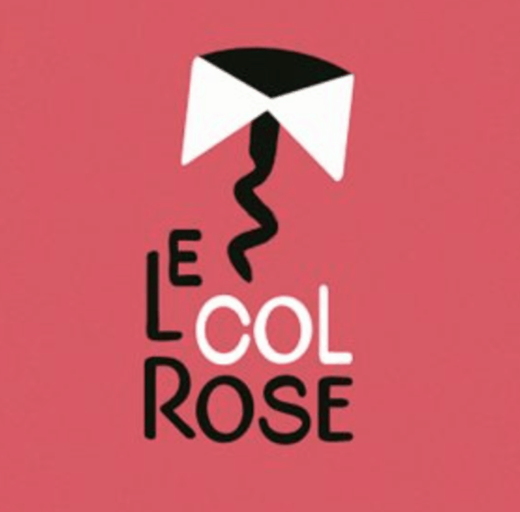 le col rose logo branding Betrue