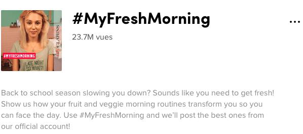 #myfreshmorning